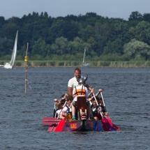 Das Boot ächzte und die Paddel bogen sich unter der enormen Krafteinwirkung! ;)