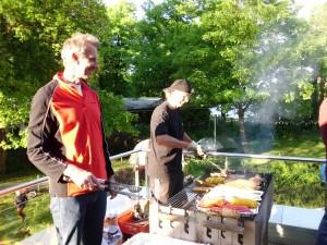 Sommerfest mit Grillen