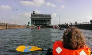 Tagesfahrt auch mit der Jugendgruppe zum Schiffshebewerk Niederfinow