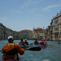 Vogalonga 2016- 15: PC Wiking auf Sightseeing-Tour durch Venedig.