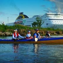 Vogalonga 2016- 1 : Kreuzfahrt geht auch mit kleineren Schiffen.