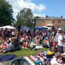 Die Veranstaltung mit Sport und Musik wurde von mehreren hundert Menschen besucht