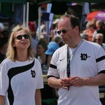 Karina und der Jugendleiter des PCW Michael