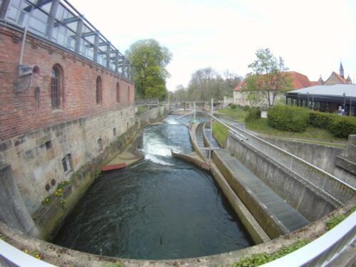 Blick auf den unteren Teil der Strecke in Hildesheim, Hildesheim Mai2016