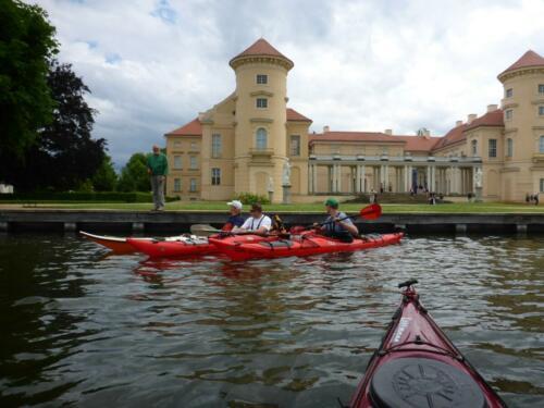 17 Rheinsberger Schloss, Fahrt zur Mecklenburger Seenplatte 2013